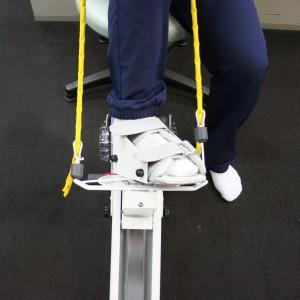 美脚のための加圧トレーニングとリアラインレッグプレス