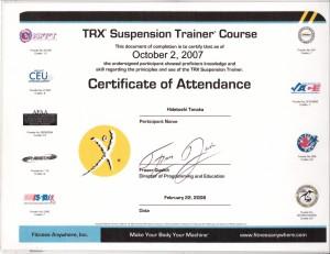TRXトレーニングの日本での歴史について