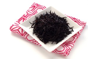 47789376 - japanese food ingredient, soaked hijiki brown seaweed on dish for cooking image