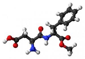アスパルテーム分子